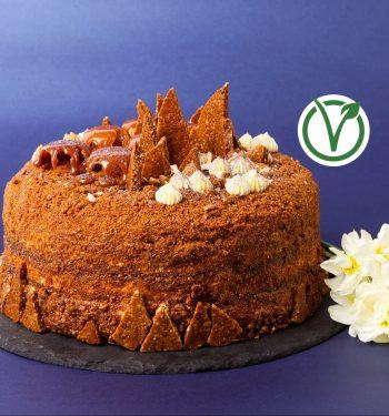 Griliažinis tortas veganiškas