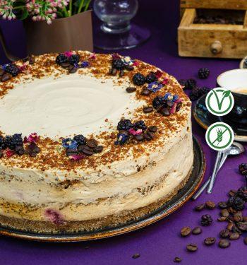 kavos skonio veganiskas tortas