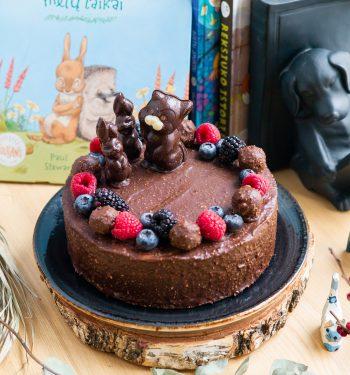 Torto papuošimas šokoladu