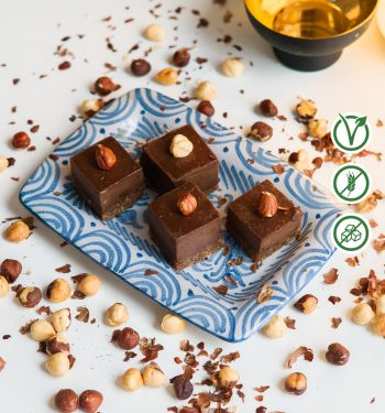 Šokoladiniai veganiški saldainiai