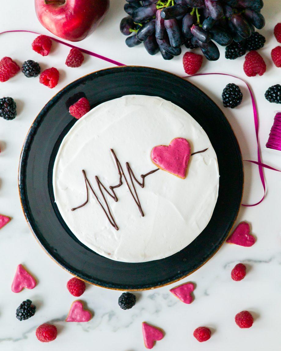 torto papuošimas kremu
