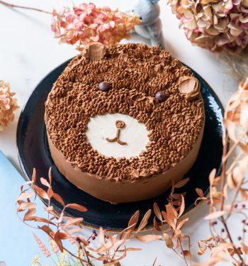 Papuošimai tortui_meškutis_vaikiškas natūralus tortas