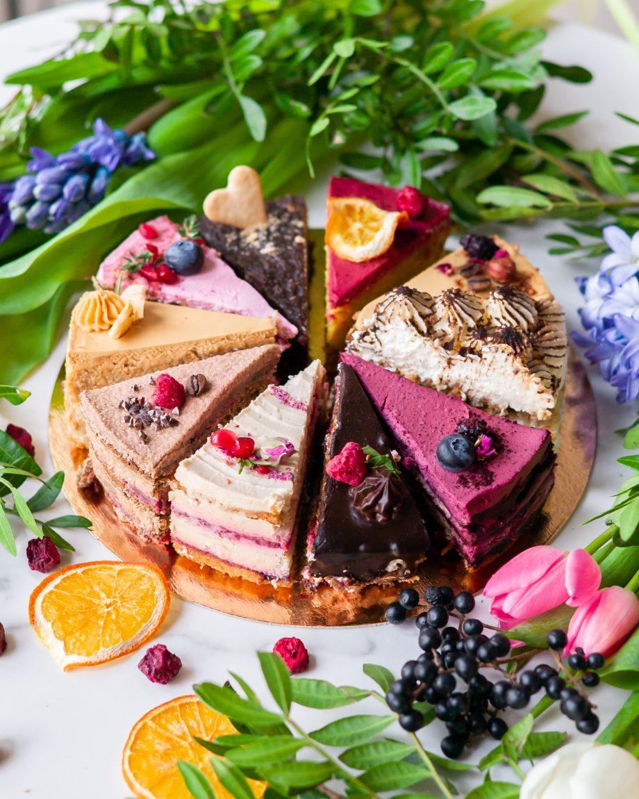 tortų degustacinis rinkinys