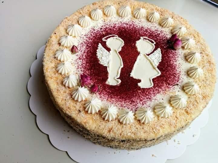 Torto papuošimas Angeliukas